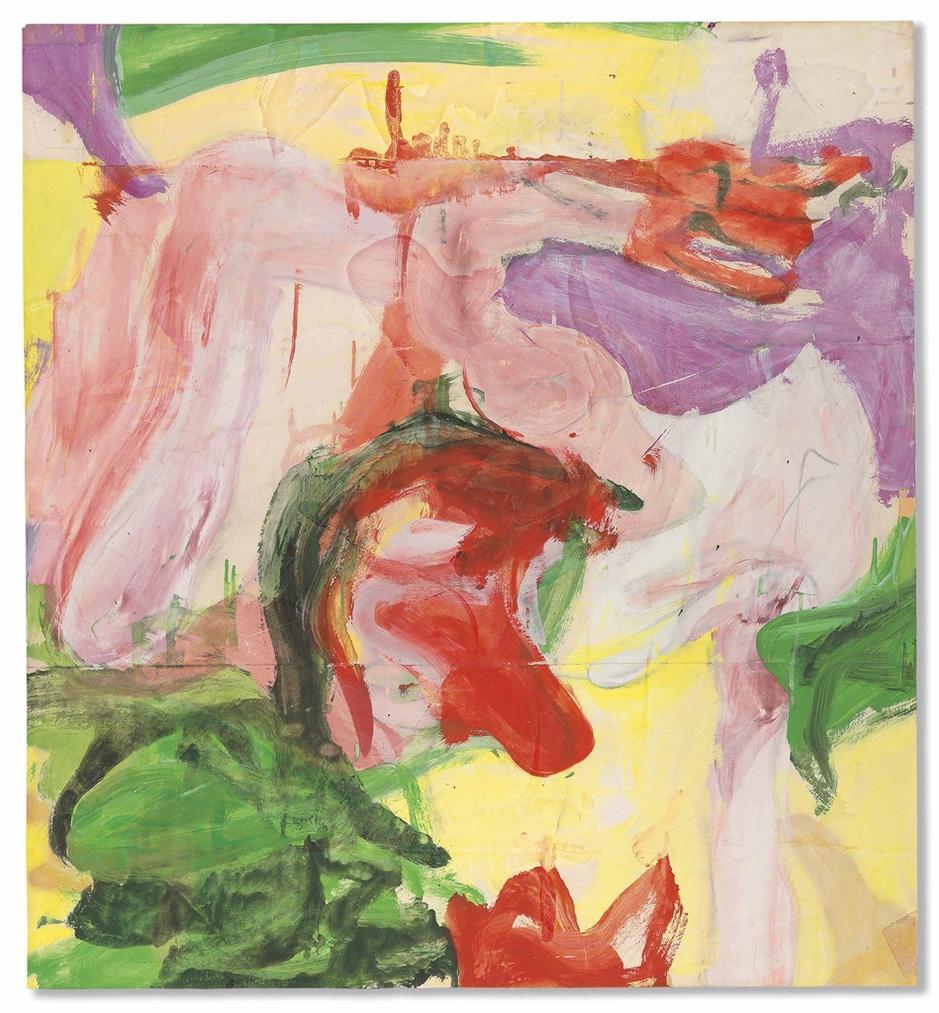 Willem de Kooning-Untitled-1971