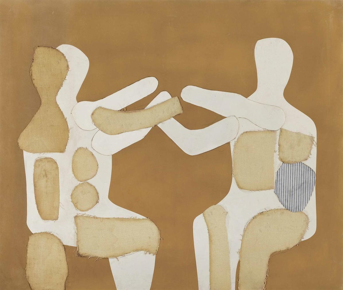 Conrad Marca-Relli-Untitled #4-1970