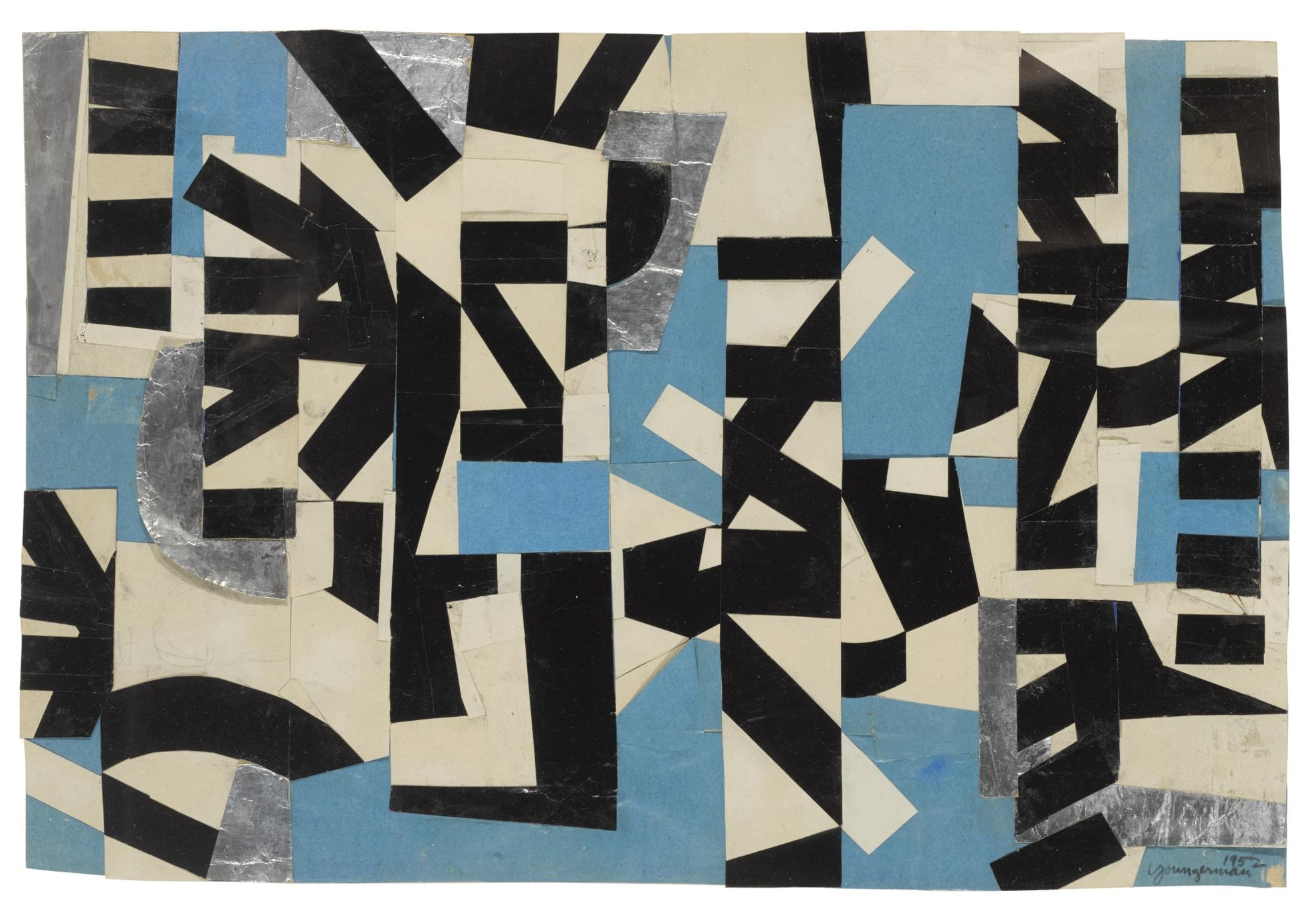 Jack Youngerman-Broken Segments/Silver-1952