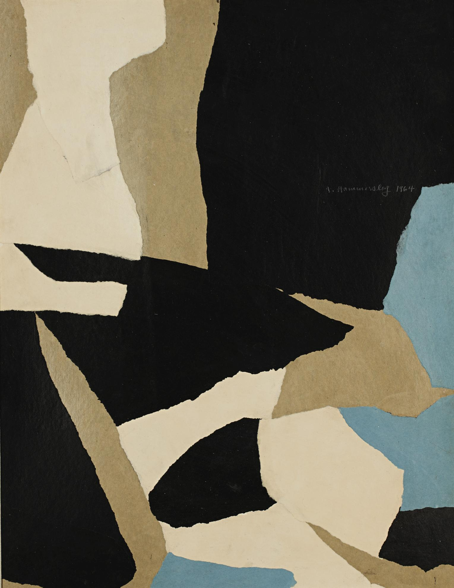 Frederick Hammersley-Off The Cuff-1964