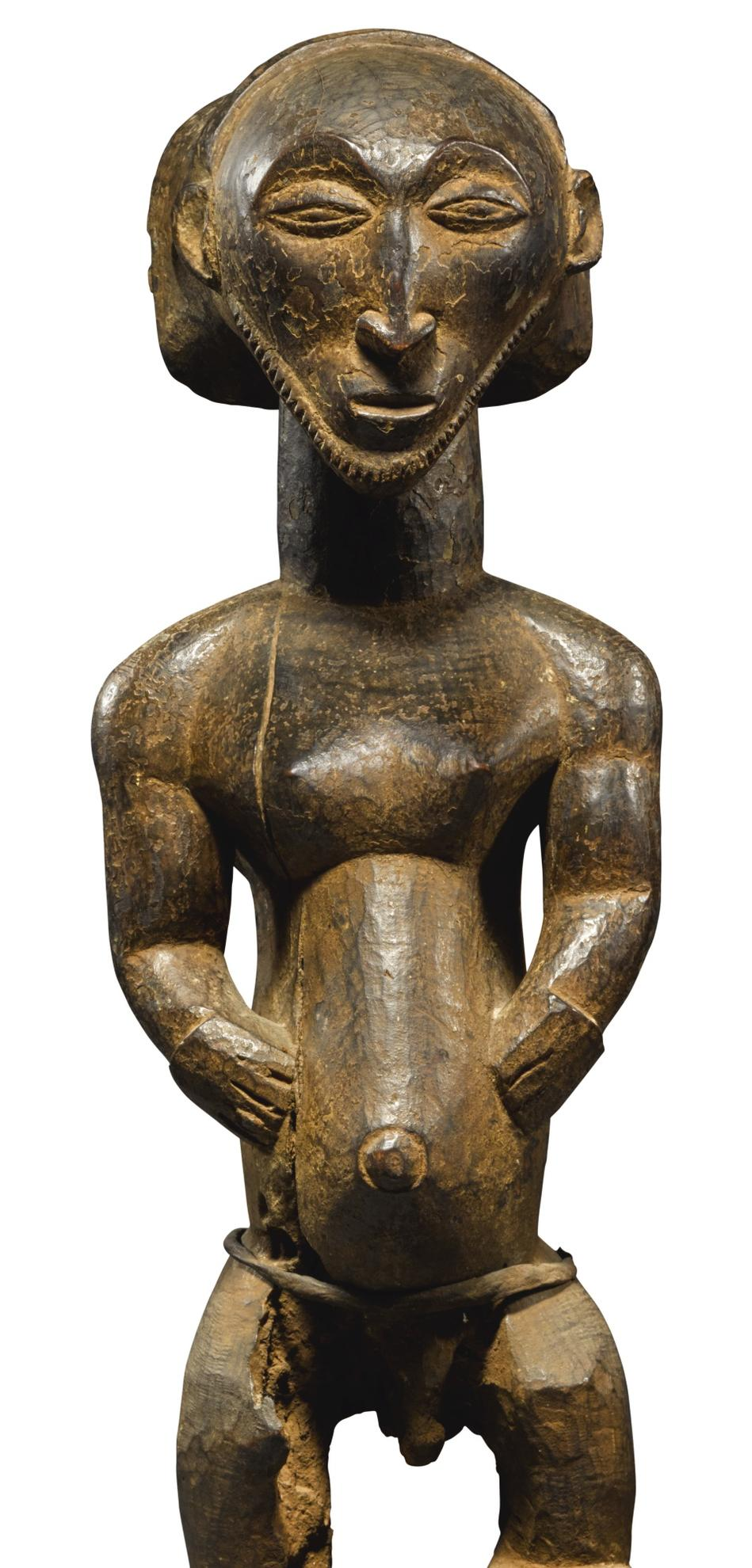 Hemba Artist Democratic Republic Of The Congo - Ancestor Figure (Singiti)-