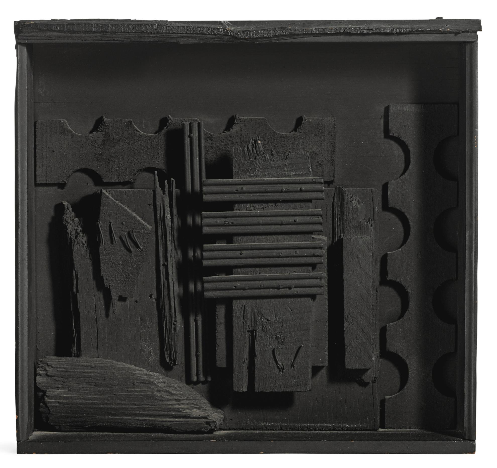 Louise Nevelson-Untitled-1958
