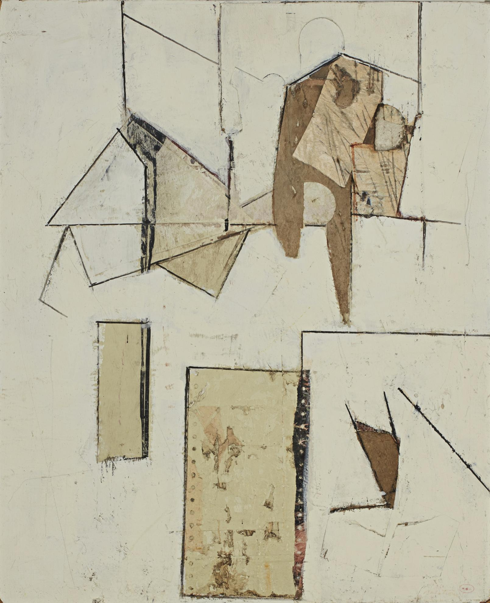 Ronald Gustin Ahlstrom - Untitled-1965