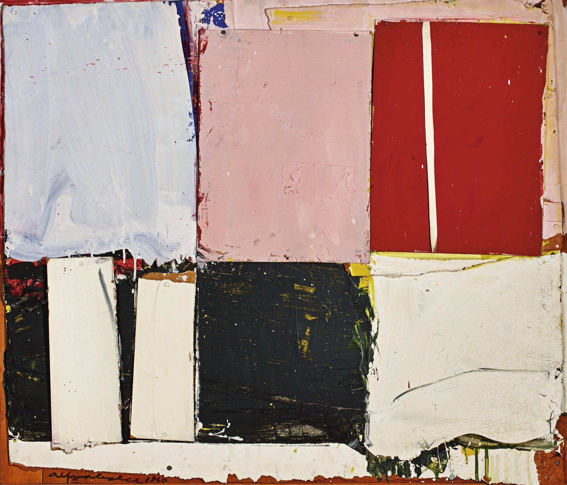 Alfred Leslie-Untitled-1960