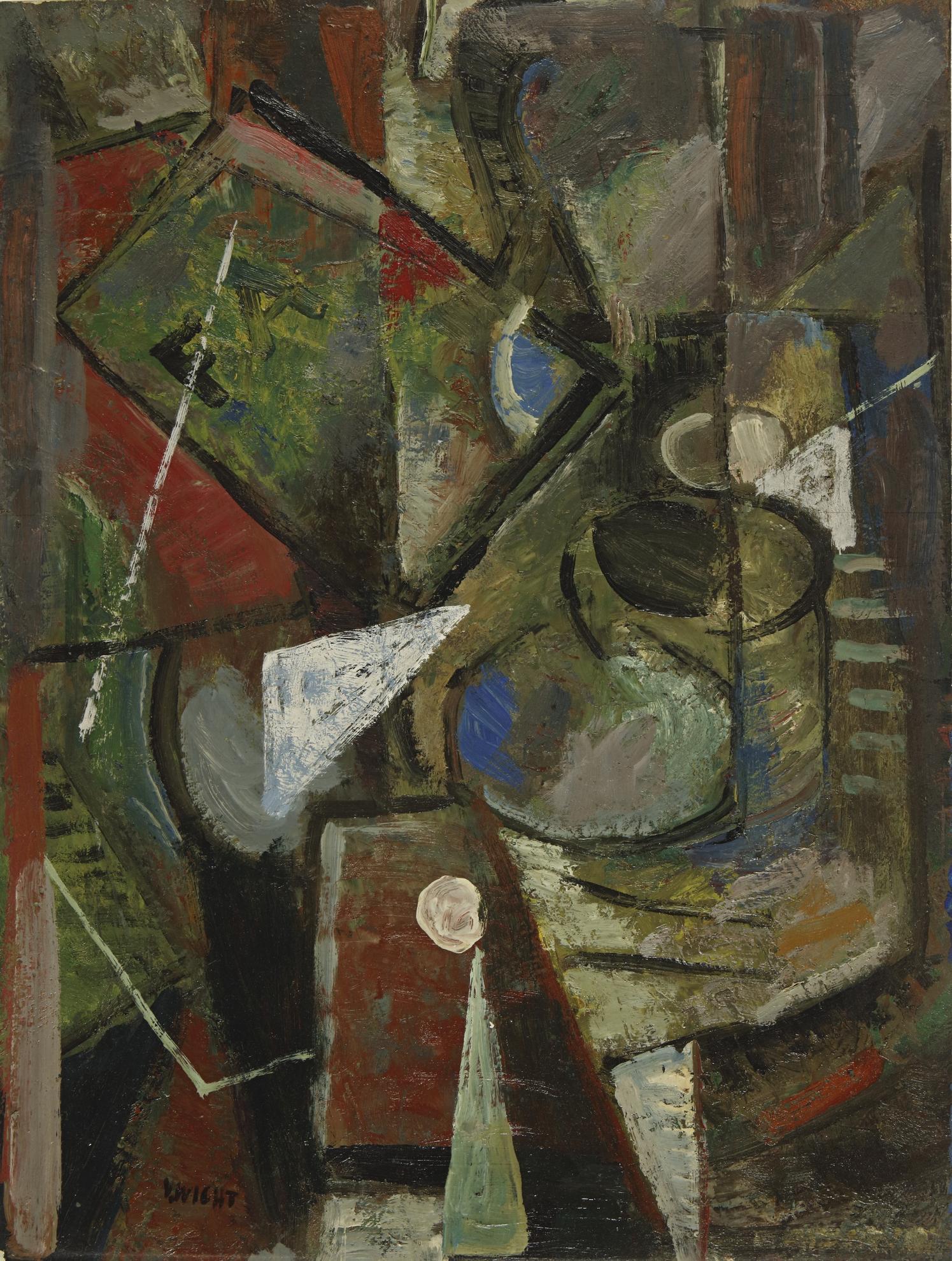 John Von Wicht - Abstraction-1937