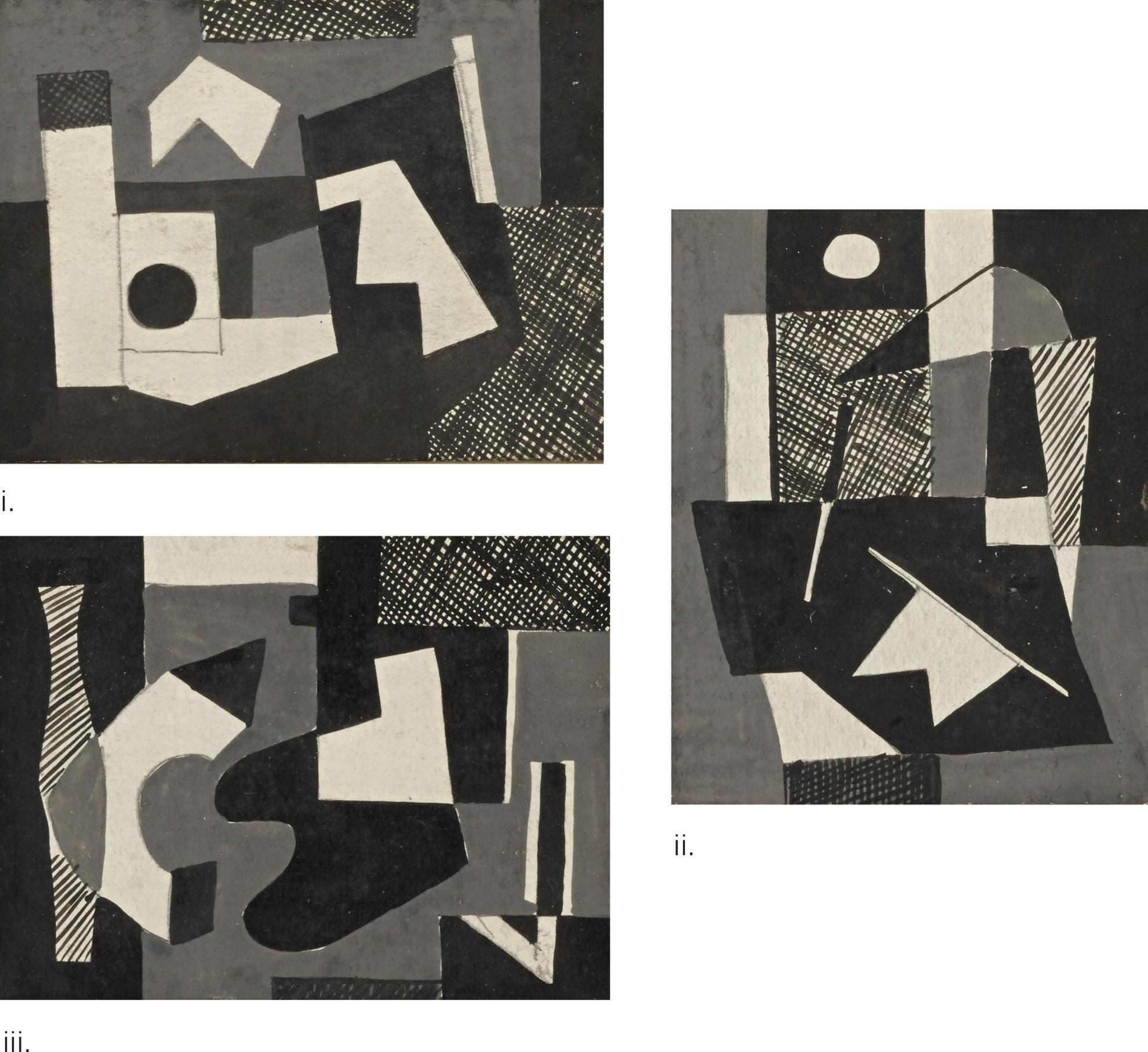 Vaclav Vytlacil-Untitled: Three Works-1940