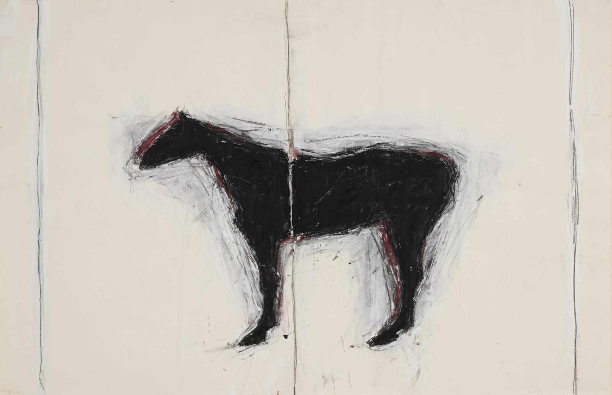 Susan Rothenberg-Untitled-1977