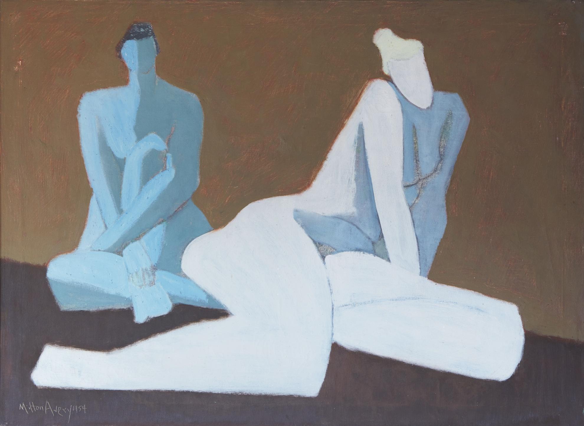Milton Avery-Two Nudes-1954