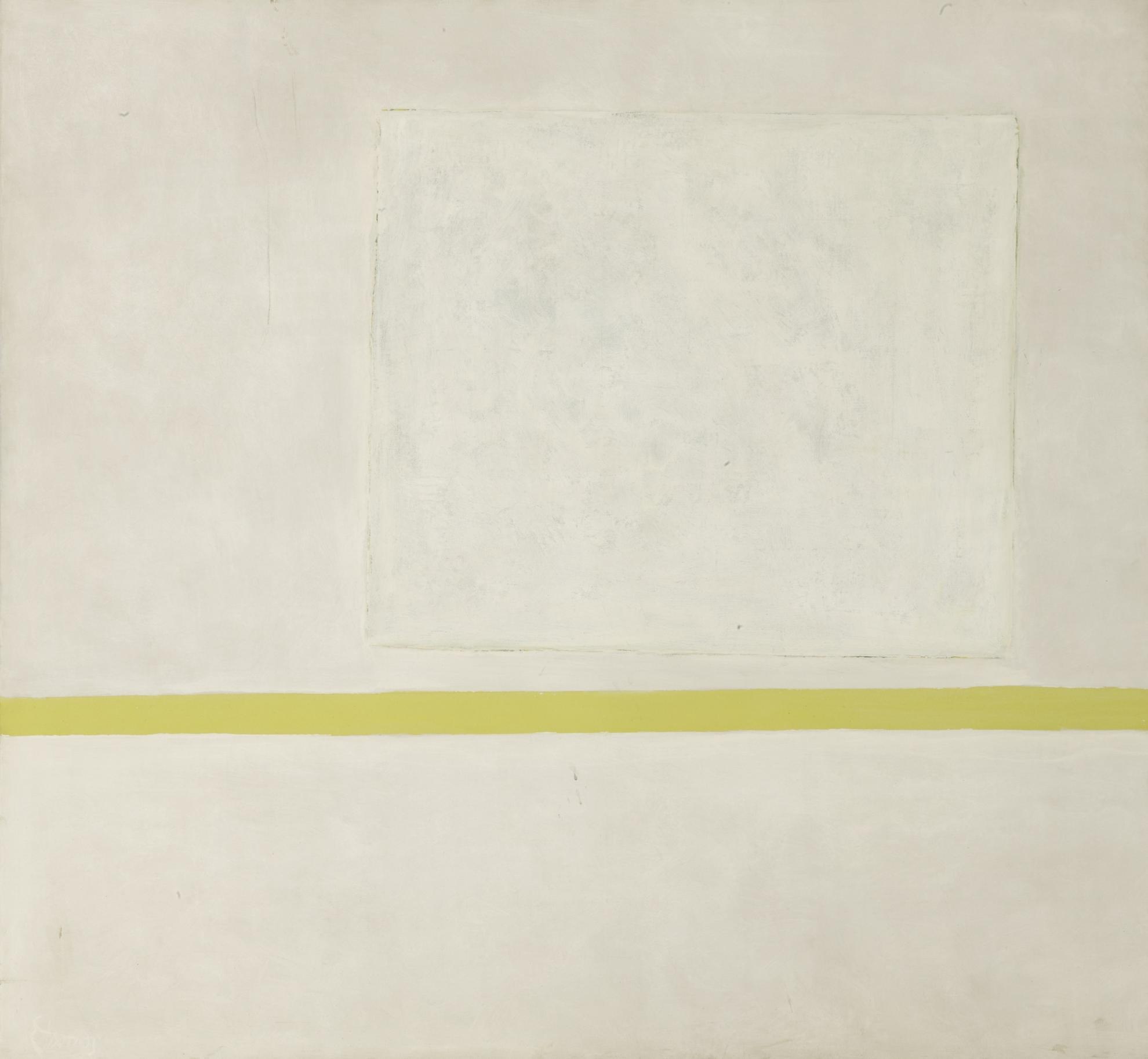 Theodoros Stamos-White Sun-Box I-1966