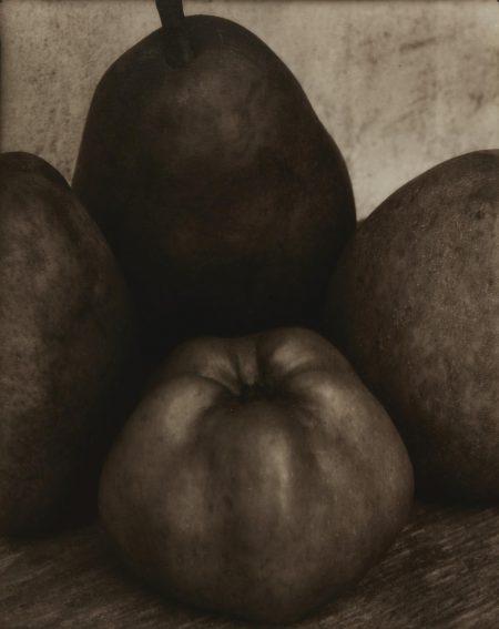 Edward Steichen-Three Pears And An Apple, France-1921