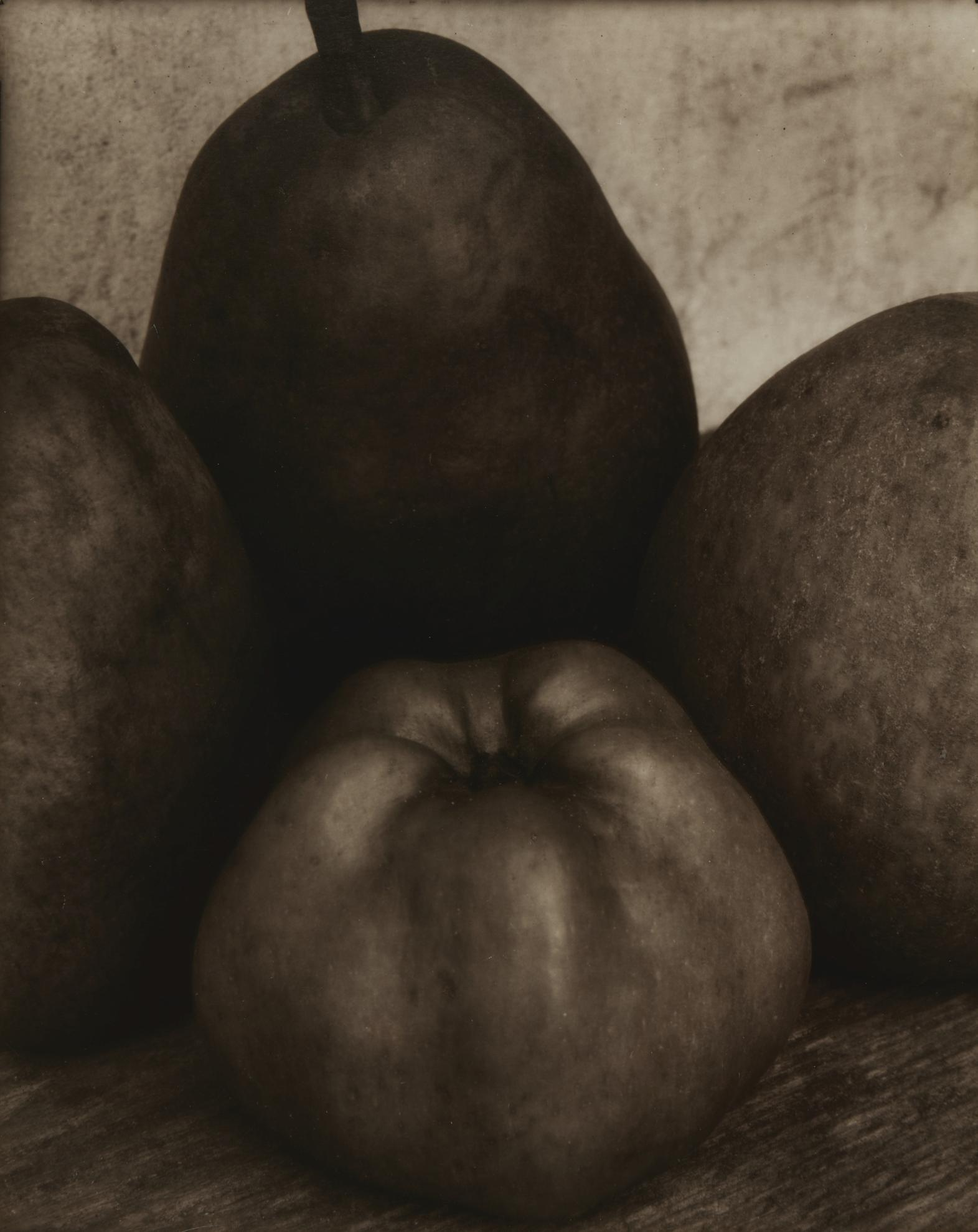 Edward Steichen-Three Pears And An Apple, France-1921