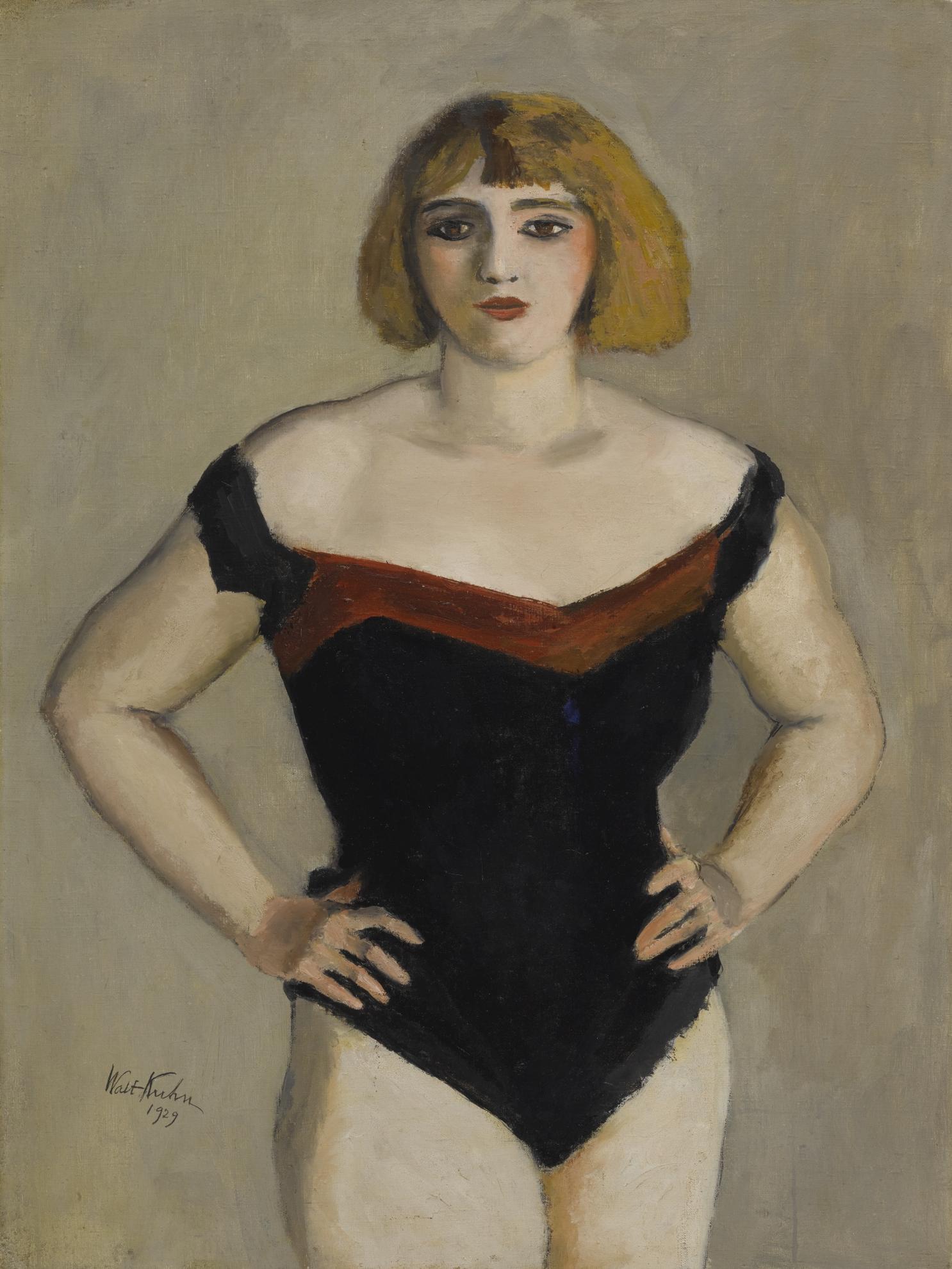 Walt Kuhn - Helen-1929
