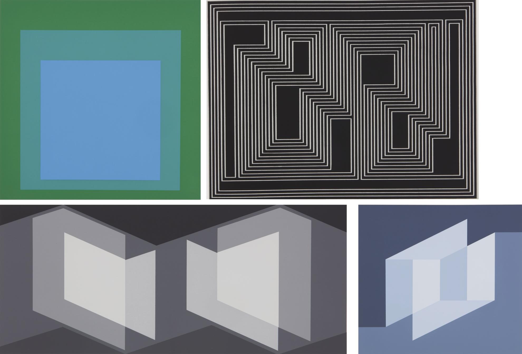 Josef Albers-Formulation: Articulation-1972