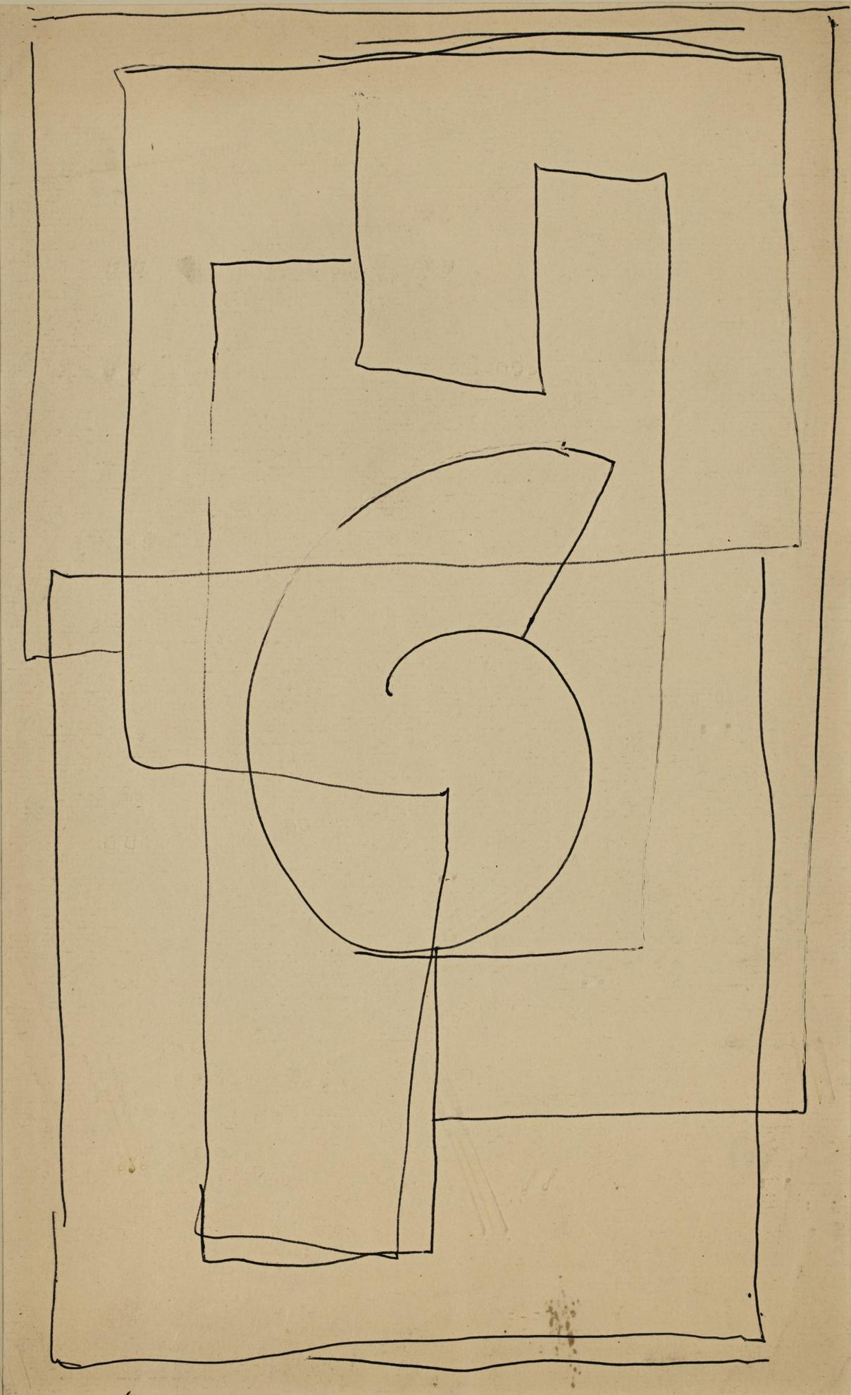 Duncan Grant-Abstract Lines-1912