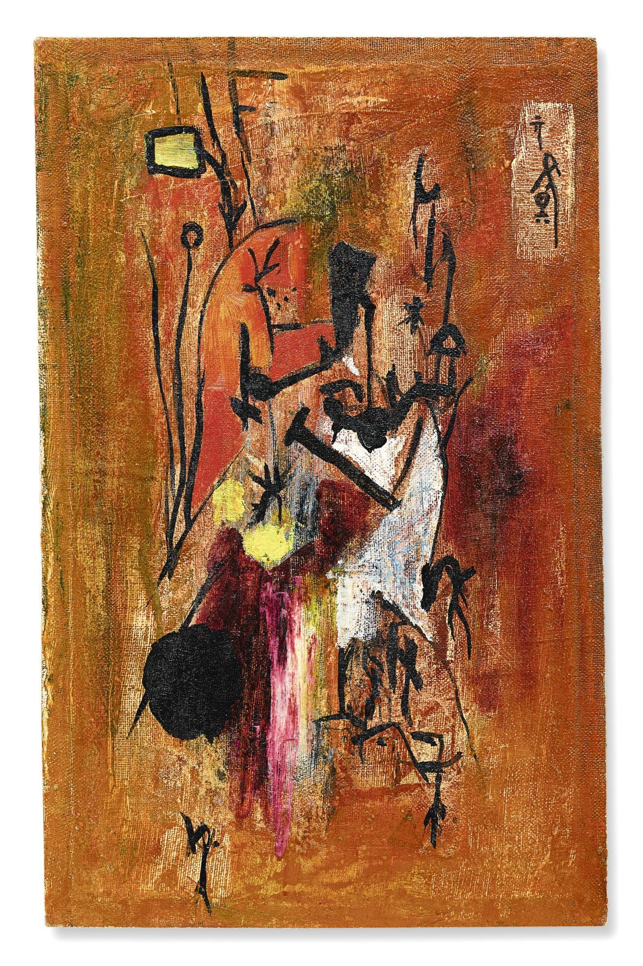 Li Yuan-Chia-Senza Titolo-1957