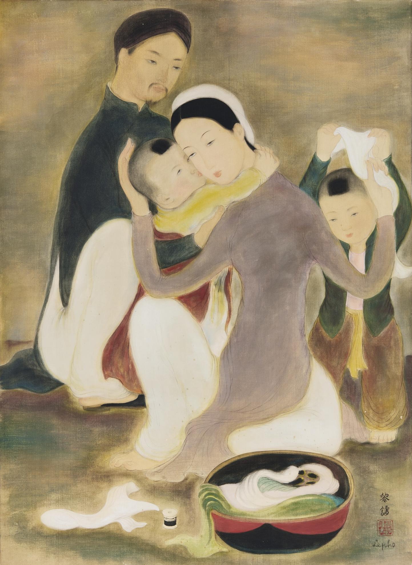 Le Pho-La Famille (The Family)-1940