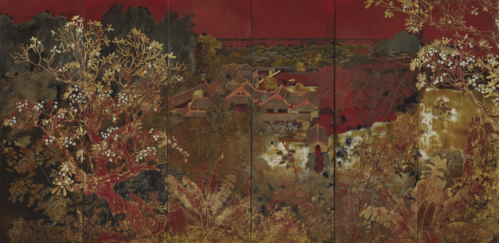 Nguyen Gia Tri-Paysage (Landscape)-1940