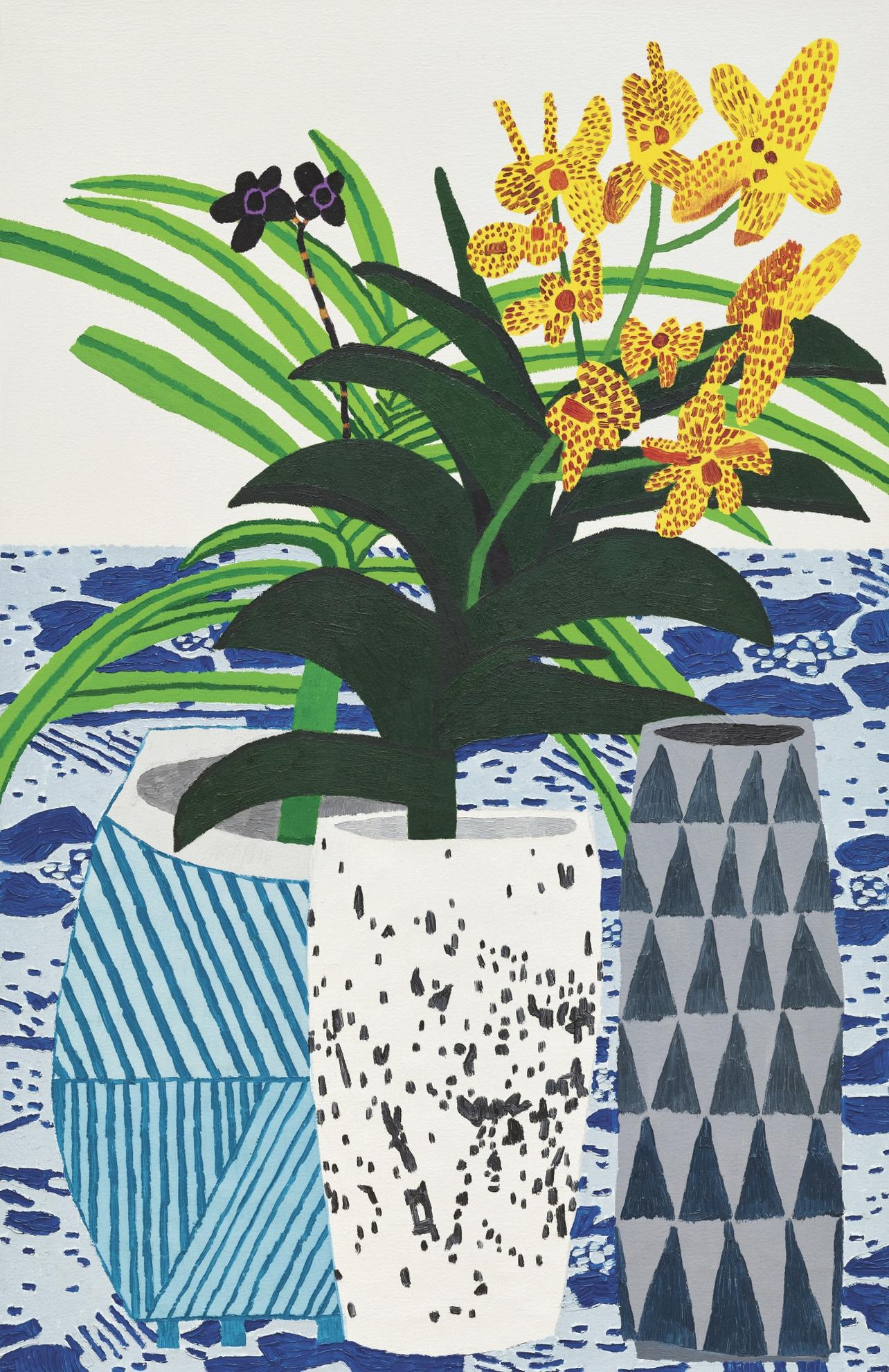 Jonas Wood-Two Orchids-2012