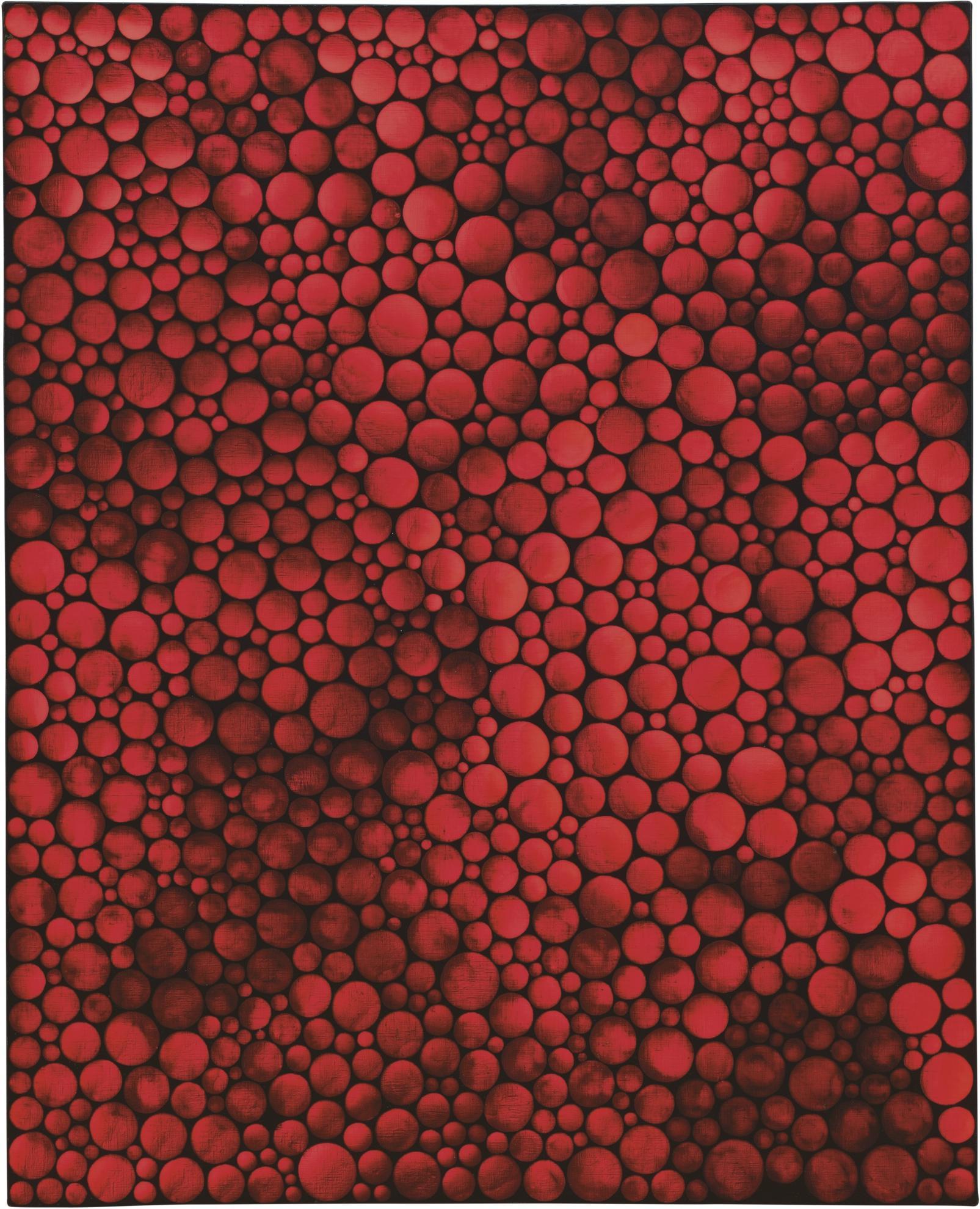 Yayoi Kusama-Infinity-Dots Qhyo-2005