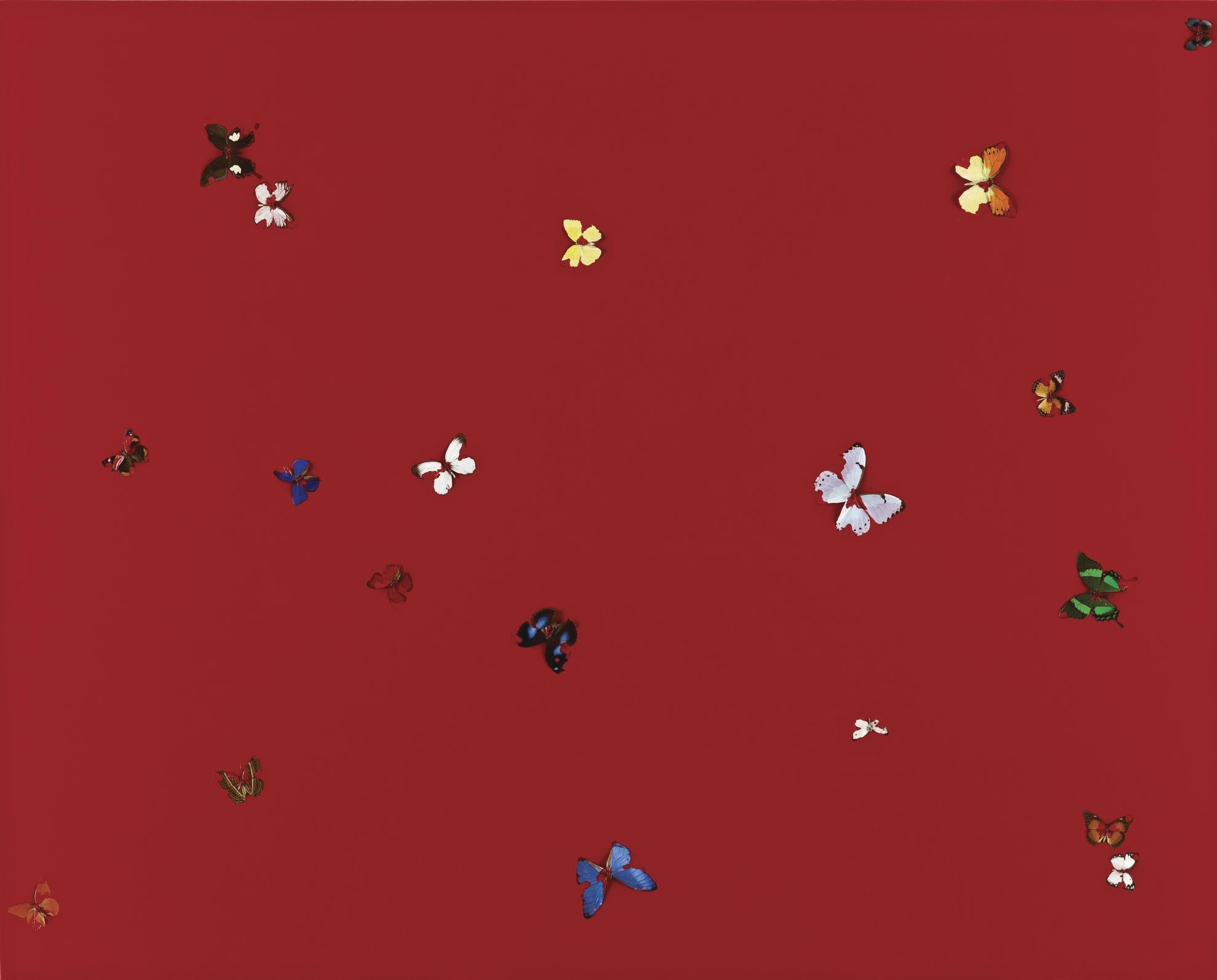 Damien Hirst-Sky Love-2004