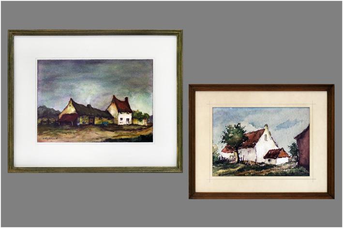 Huylebroeck E. - White farm; Farm-