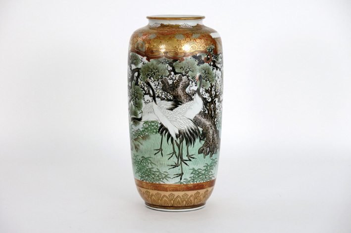 Japanese vase in marked porcelain-