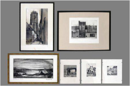 Six prints-