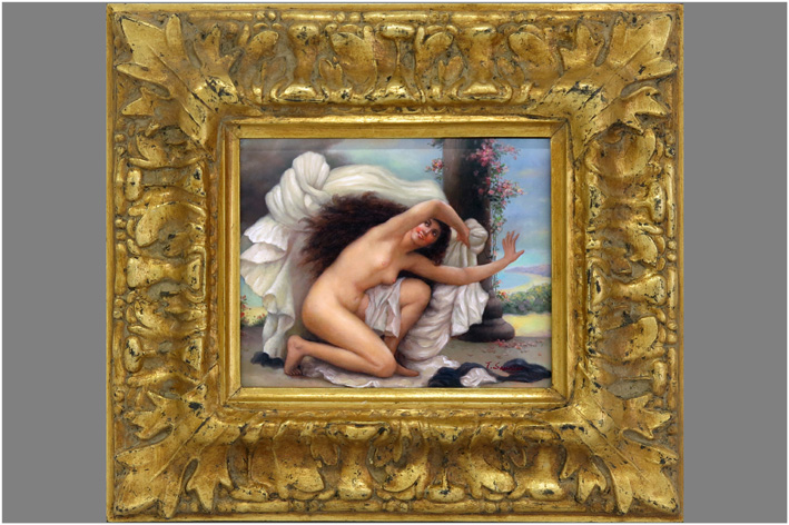 Saunier T. - Harem woman-