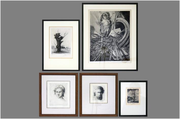 Five prints-