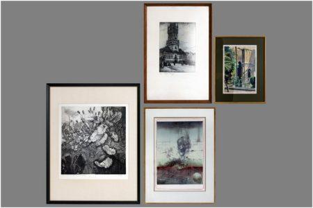 Several prints, one by J.Janicek-1935