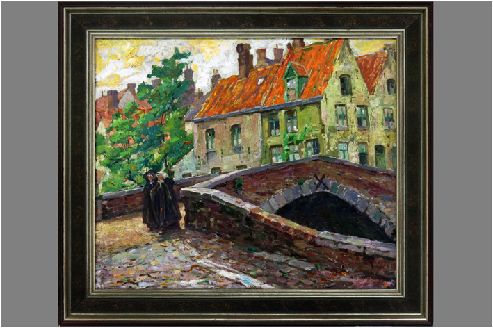 Lisen Marcel - View of Bruges-