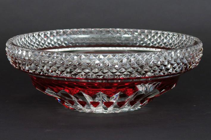 Belgian bowl in signed VSL crystal-