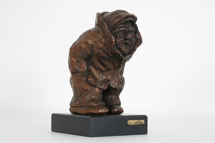 Sculpture in wood-
