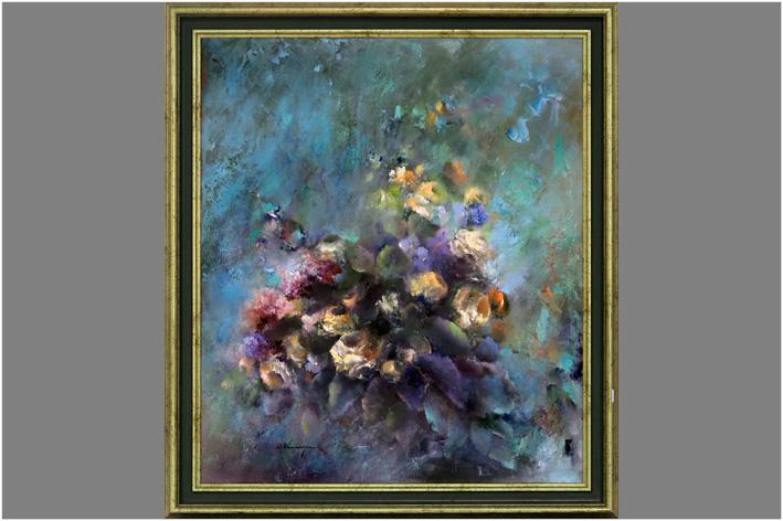 Vercammen D. - Flower still life-