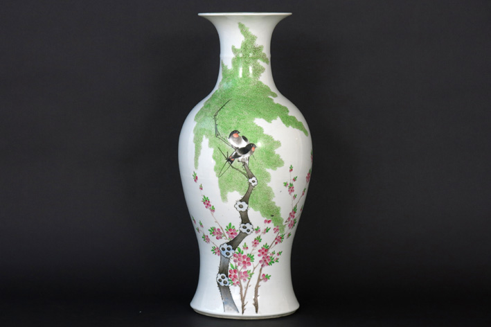 Antique Chinese vase in porcelain-