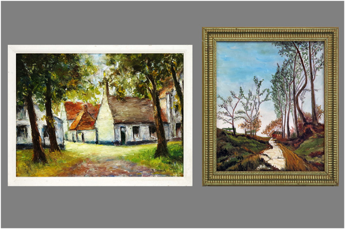 Small paintings-