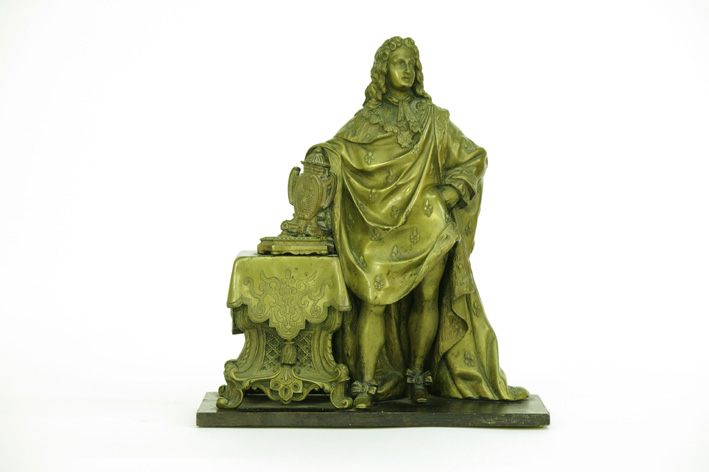 19th Cent. French sculpture in bronze-
