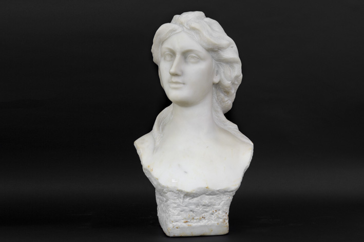 Lambeaux Jef - Bust of a woman-