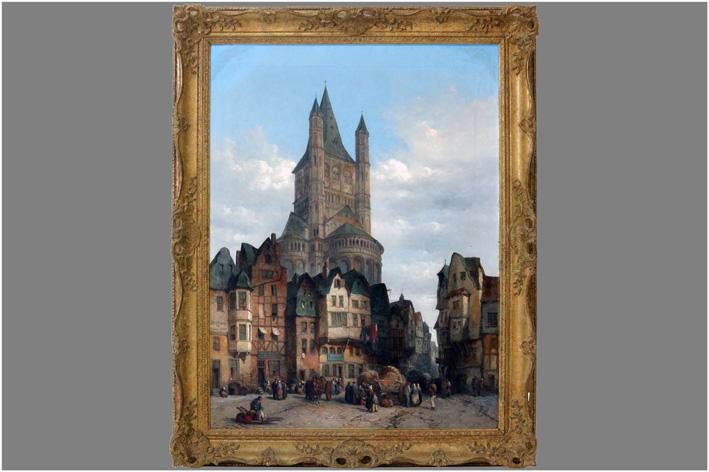 Wood Lewis John - Church in Cologne-1862