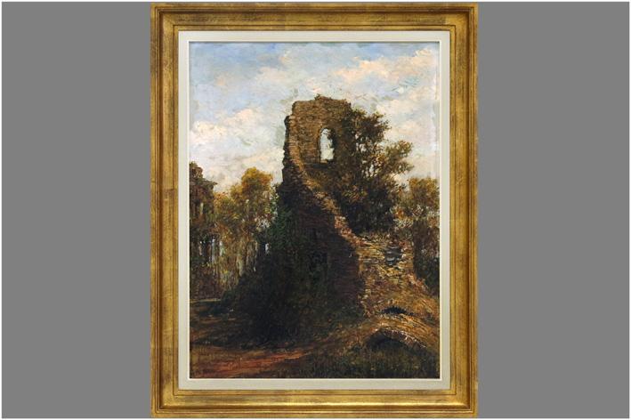 Permeke Henri-Louis - Ruins in landscape-