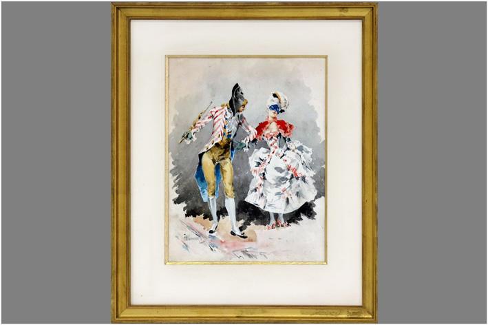 Kaemmerer Frederick Hendrik - Dressed dancing couple-