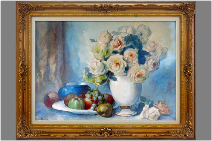 Roosenboom Margaretha - Still life with flowers-