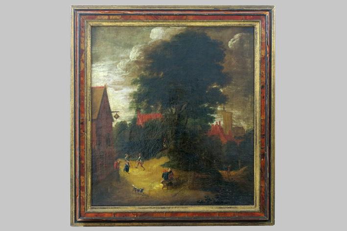 Rombouts Salomon - Feast at the inn-