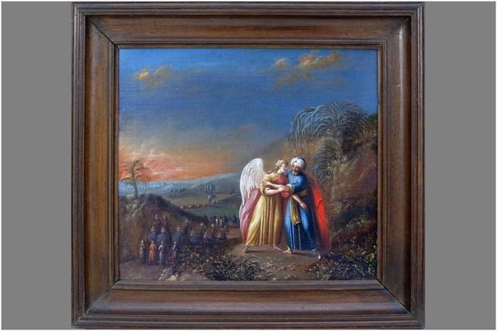The battle of Jacob with the Archangel-
