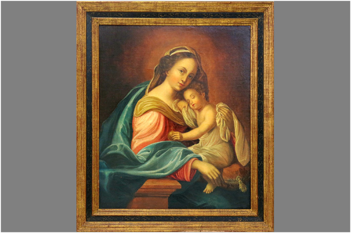 Dolci Carlo - Madonna with child-