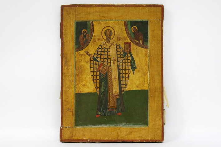 Antique Russian icon-