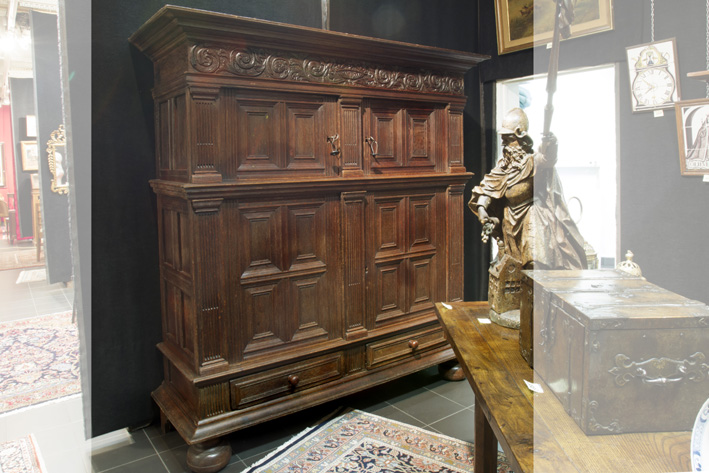 17th Cent. Renaissance cupboard in oak-