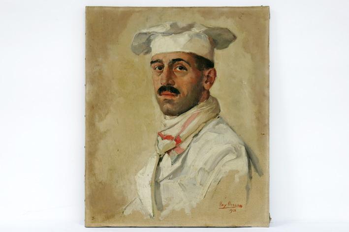 Moreau Max - Le chef (cook) marocain-1924