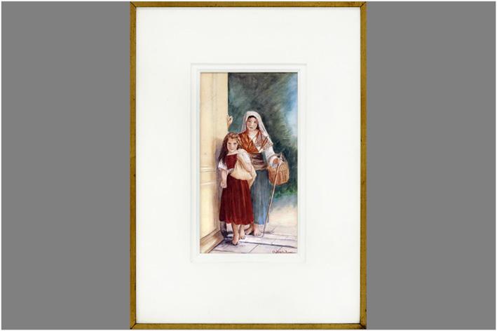 Bidelli-Rossi Charles - Two girls-