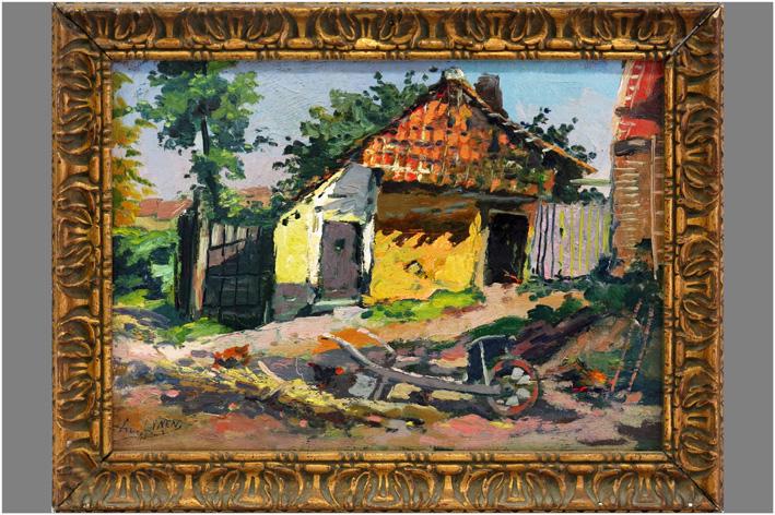 Lynen Amedee - View of an estate-